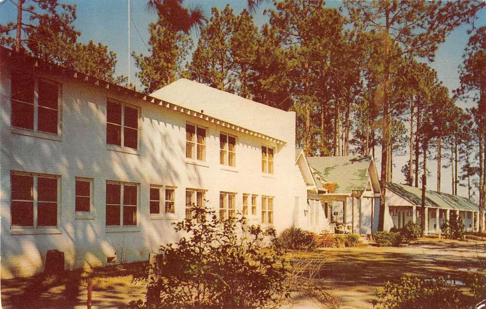 Laurinburg North Carolina Pine Acres Motor Hotel vintage ...